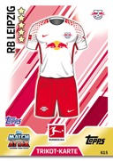 Germany Match Attax Extra 2018 RB Leipzig Cards