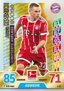 Germany Match Attax Extra 2018 Limited Edition Cards