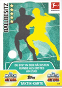 Germany Match Attax Extra 2018 Tactic Cards Cards