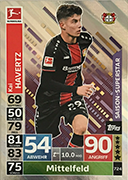 Germany Match Attax Extra 2019<br />Season Superstar Cards