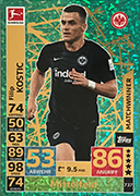 Germany Match Attax Extra 2019<br />Match Winners Cards