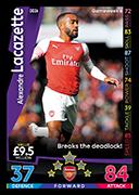 Match Attax Arsenal On Demand 2018//19-037 Aaron Ramsey
