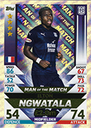 Scotland Match Attax 2019 Man Of The Match Cards