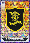 Scotland Match Attax 2019 Livingston Cards