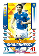 Scotland Match Attax 2019 Captains Cards
