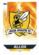 Scotland Match Attax 2019 Alloa Athletic Cards