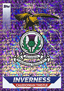 Scotland Match Attax 2019 Inverness Caledonian Thistle Cards