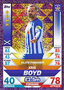Scotland Match Attax 2019 Skill Stars Cards