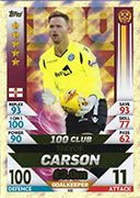 Scotland Match Attax 2019 100 Club Cards