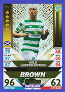 Scotland Match Attax 2019 Limited Edition Cards