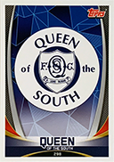 Queen of the South Club Badge