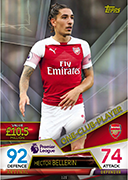 Match Attax Ultimate 2019<br />One Club Players Cards