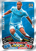 Match Attax Extra 2012 Captains Cards