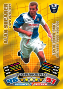 Match Attax Extra 2012 Golden Goals Cards