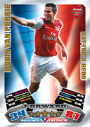 Match Attax Extra 2012 Hat Trick Heroes Cards