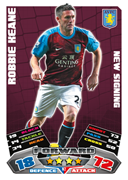 Match Attax Extra 2012 Aston Villa Cards