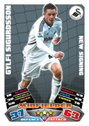 Match Attax Extra 2012 Swansea City Cards