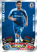 Match Attax Extra 2012 Star Signings Cards