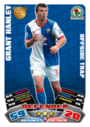 Match Attax Extra 2012 Blackburn Rovers Cards