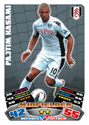 Match Attax Extra 2012 Fulham Cards