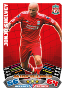 Match Attax Extra 2012 Liverpool Cards