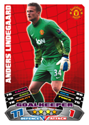 Match Attax Extra 2012 Manchester United Cards