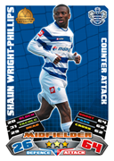 Match Attax Extra 2012 QPR Cards