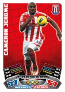 Match Attax Extra 2012 Stoke City Cards