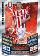 Match Attax Extra 2013 Captains Cards