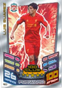 Match Attax Extra 2013 100 Club Cards