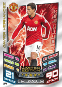 Match Attax Extra 2013 Limited Edition Cards