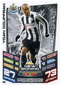 Match Attax Extra 2013 Newcastle United Cards