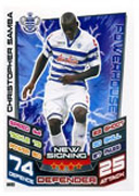 Match Attax Extra 2013 QPR Cards