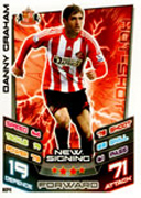 Match Attax Extra 2013 Sunderland Cards