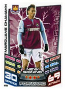 Match Attax Extra 2013 West Ham United Cards