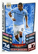 Match Attax Extra 2013 Manchester City Cards