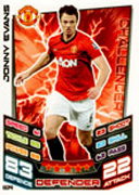 Match Attax Extra 2013 Manchester United Cards