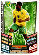 Match Attax Extra 2013 Norwich City Cards