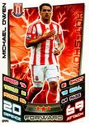 Match Attax Extra 2013 Stoke City Cards