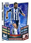 Match Attax Extra 2013 West Brom Cards