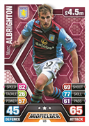 Match Attax Extra 2014 Aston Villa Cards