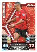 Match Attax Extra 2014 Cardiff City Cards