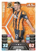 Match Attax Extra 2014 Hull City Cards