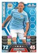 Match Attax Extra 2014 Manchester City Cards