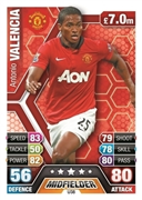 Match Attax Extra 2014 Manchester United Cards