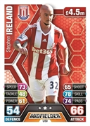 Match Attax Extra 2014 Stoke City Cards