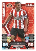 Match Attax Extra 2014 Sunderland Cards