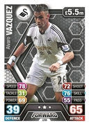 Match Attax Extra 2014 Swansea City Cards