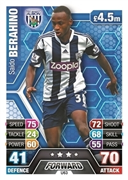 Match Attax Extra 2014 West Bromwich Albion Cards