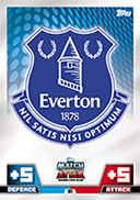 Match Attax Extra 2015 Everton Cards